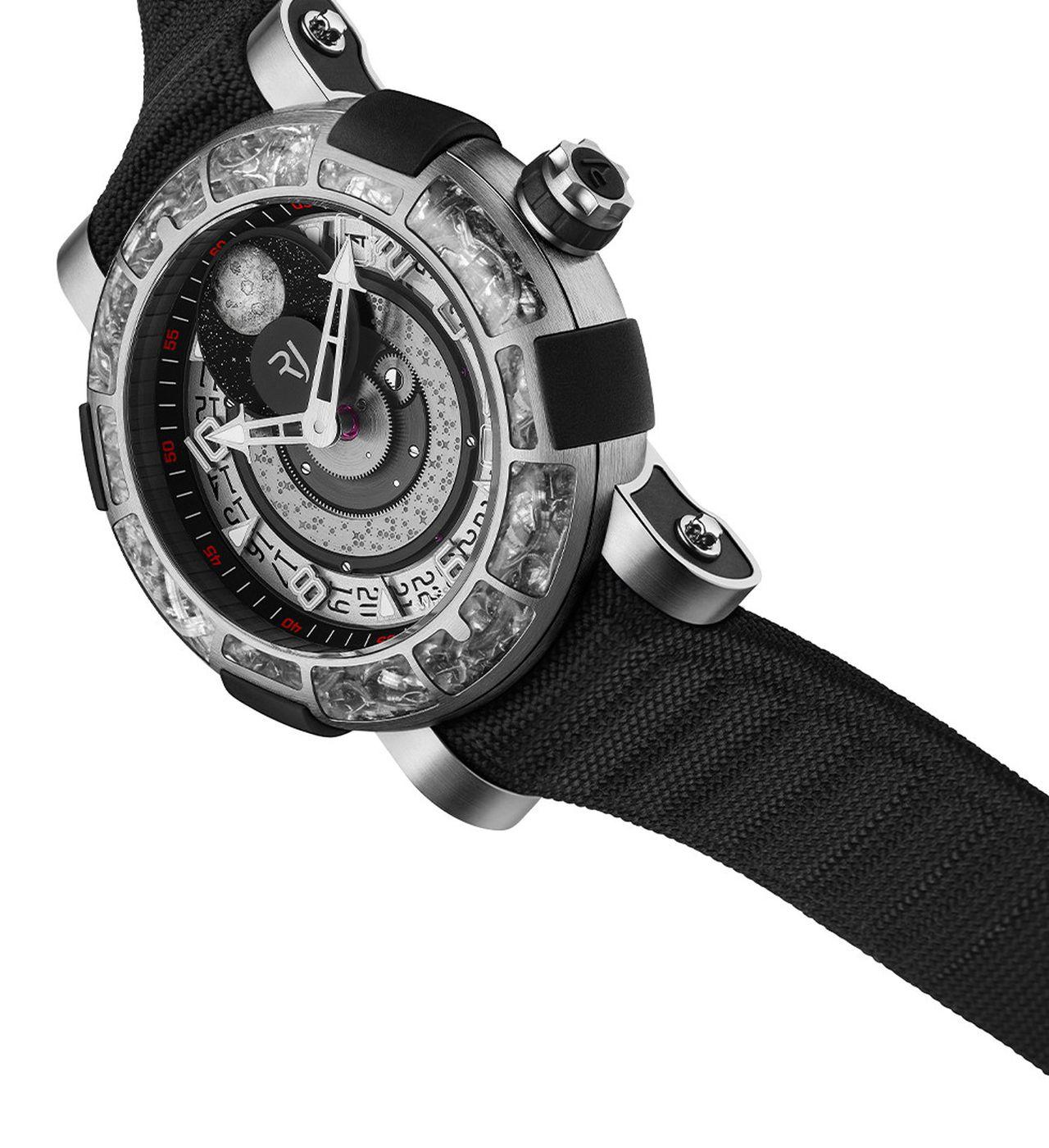 RJ Arraw 6919 - az óra, amely megengedheti magának, hogy szövetszíjat adjon a közel 20000 eurós órájához