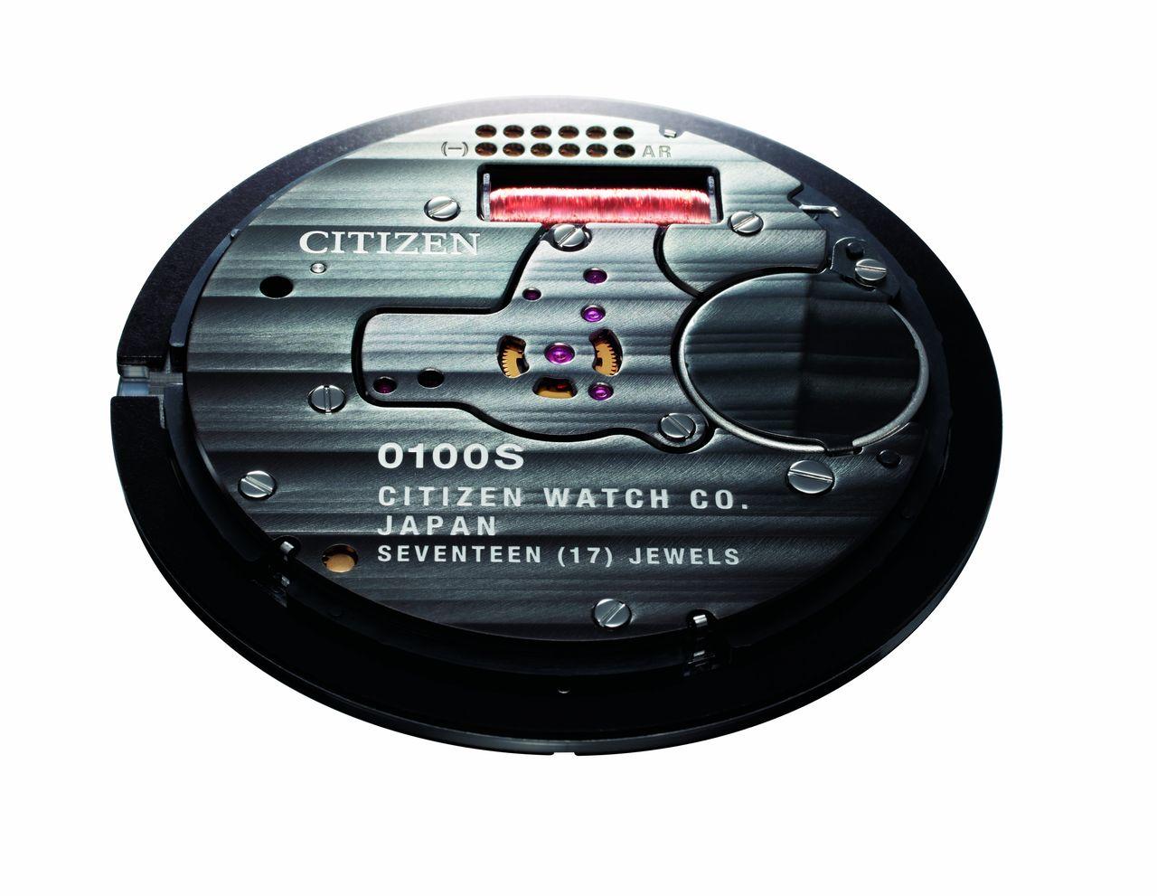 Citizen Caliber 0100 - kvarcszerkezethez képest egészen szépen díszítették
