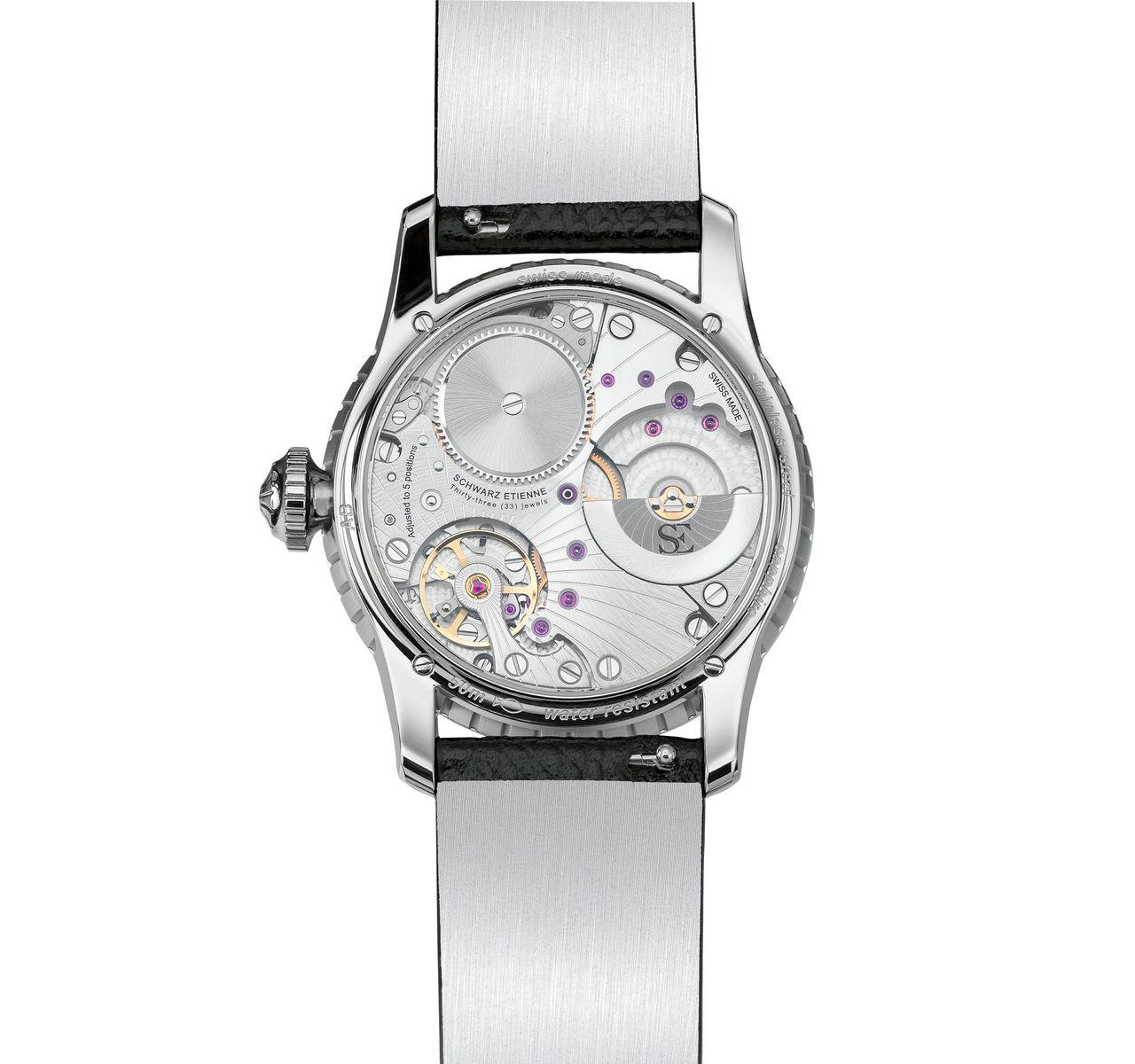 Schwarz Etienne Fiji Floral Seconds -- női óráknál ritka az ilyen látvány