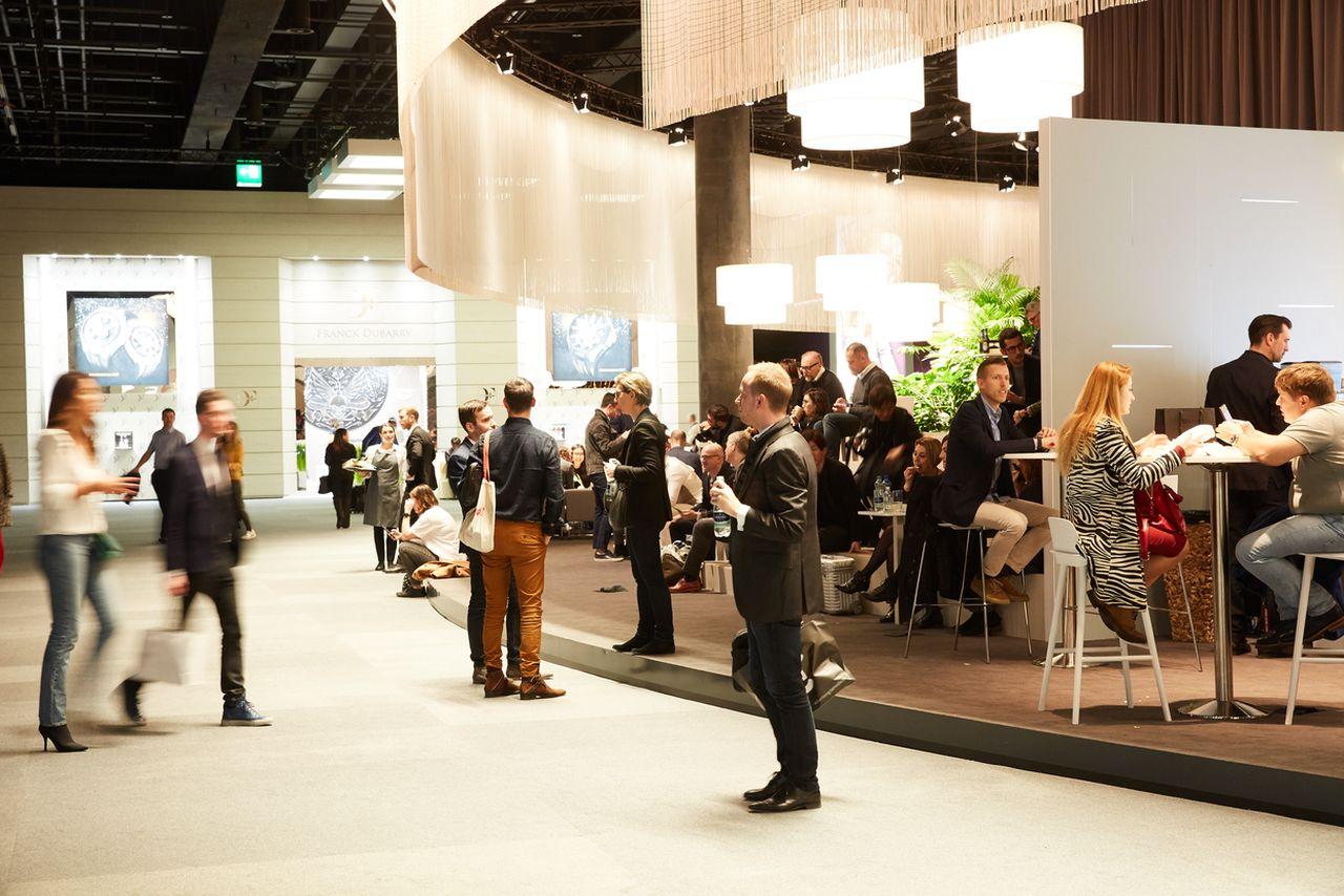 Baselworld 2019 - kiállítók helyett sok volt a közösségi tér / Fotó: Herzog & de Meuron