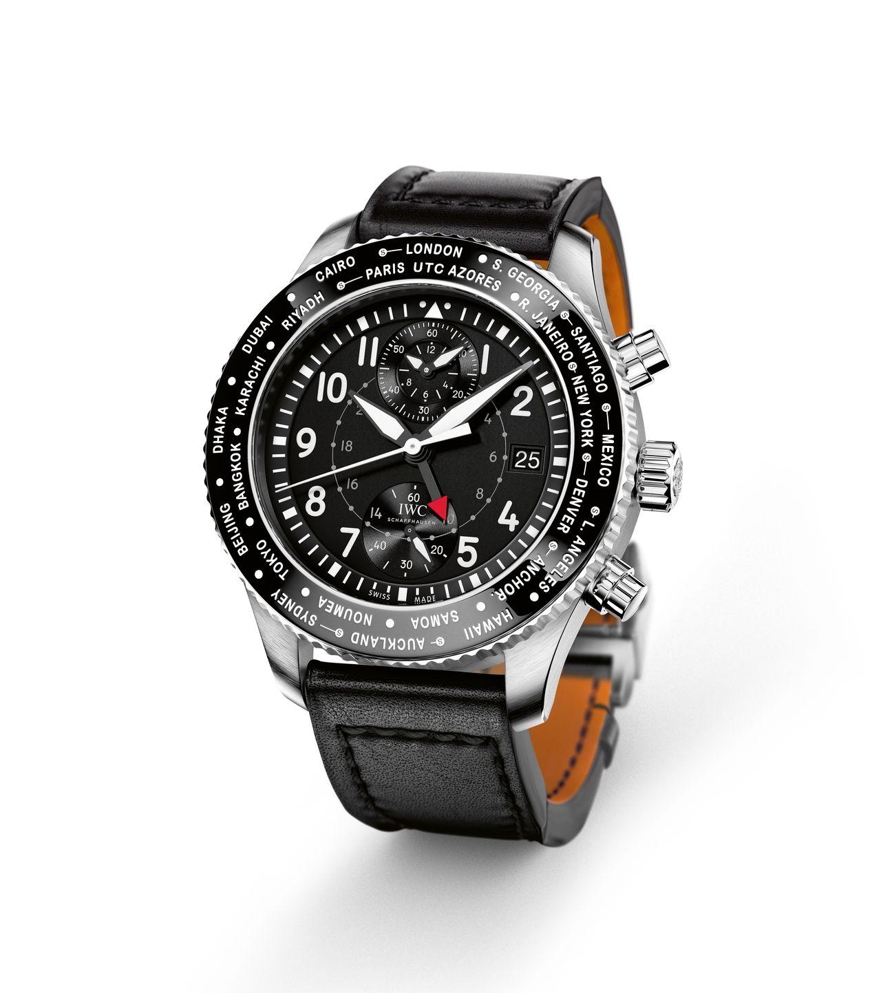 IWC Pilot's- Watch Timezoner Chronograph - a kronográf talán már túl sok a számlapnak (2016-os modell)