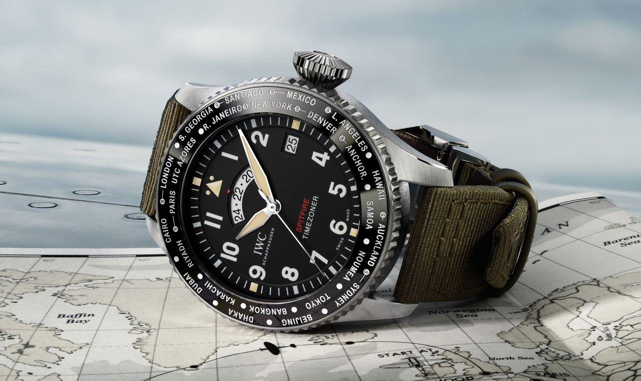 IWC Pilot's Watch Timezoner Spitfire Edition 'The Longest Flight'