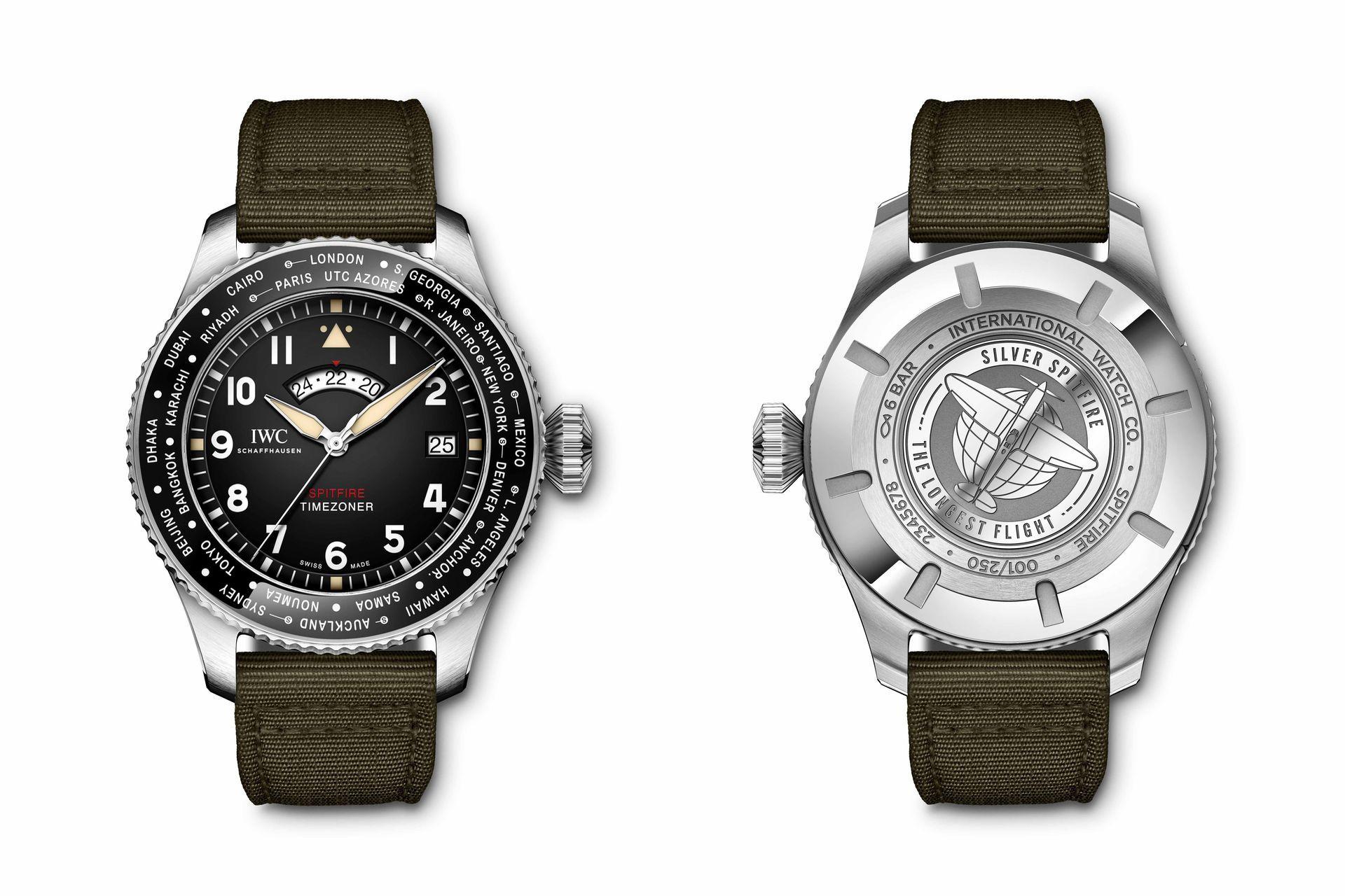 IWC Pilot's Watch Timezoner Spitfire Edition 'The Longest Flight' - búcsút inthetünk az eleganciának, üdvözöljük a műszerek világát