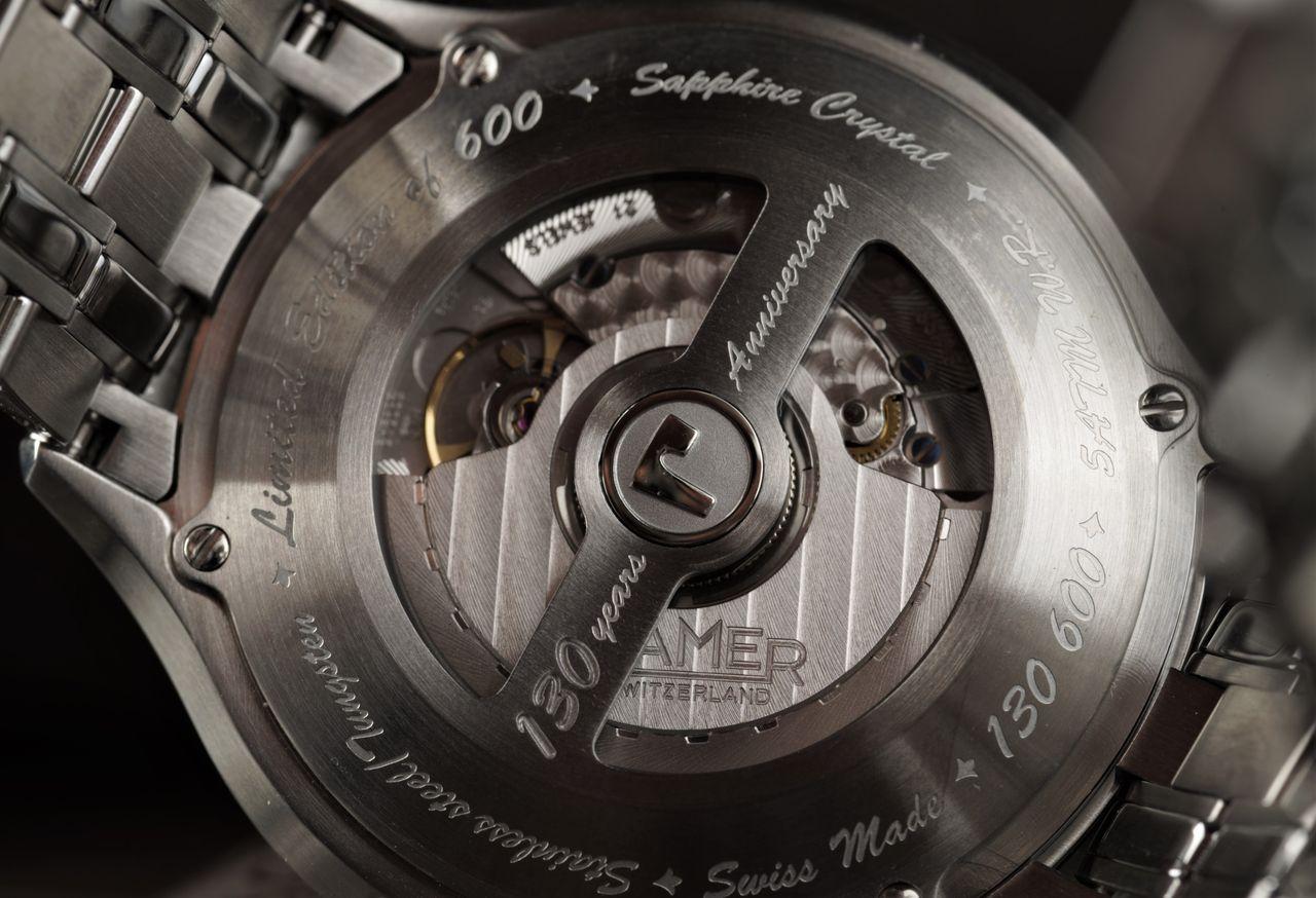 Roamer 130 Years Anniversary COSC Limited Edition - ma már kitüntető, ha egy 2892-A2 van egy új modellben