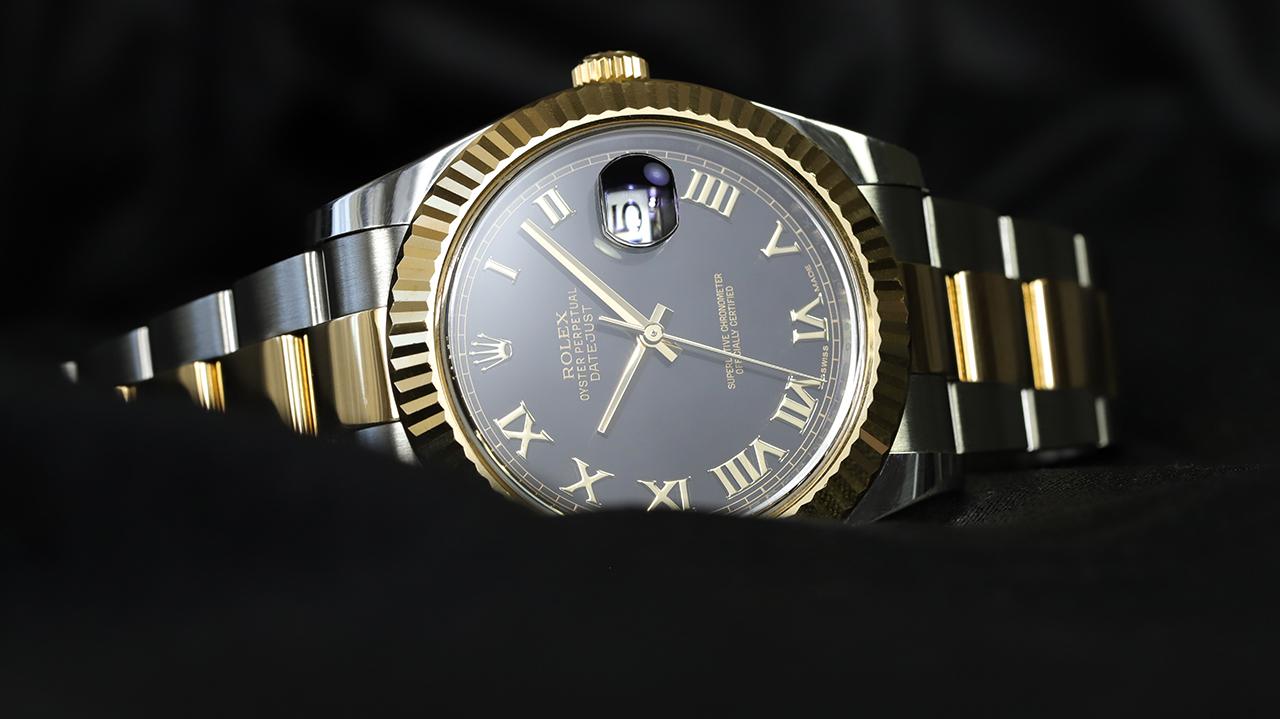 Rolex DATEJUST II, az aranyos kétszínű