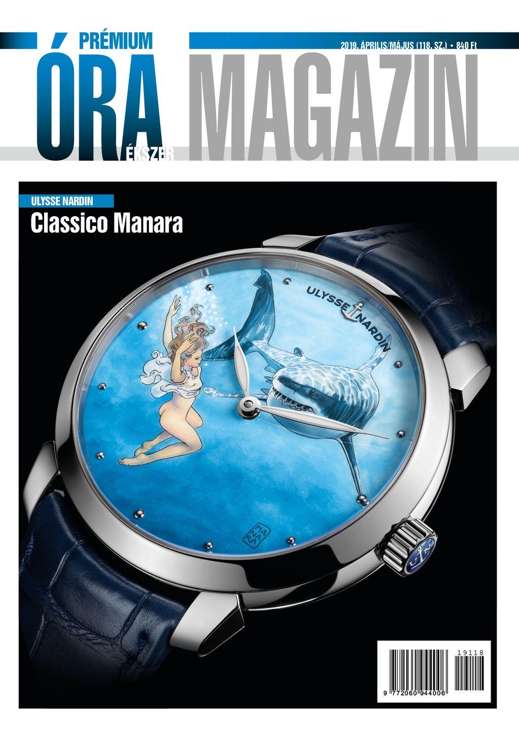Prémium Óra Ékszer Magazin 2019 április / május (118.)