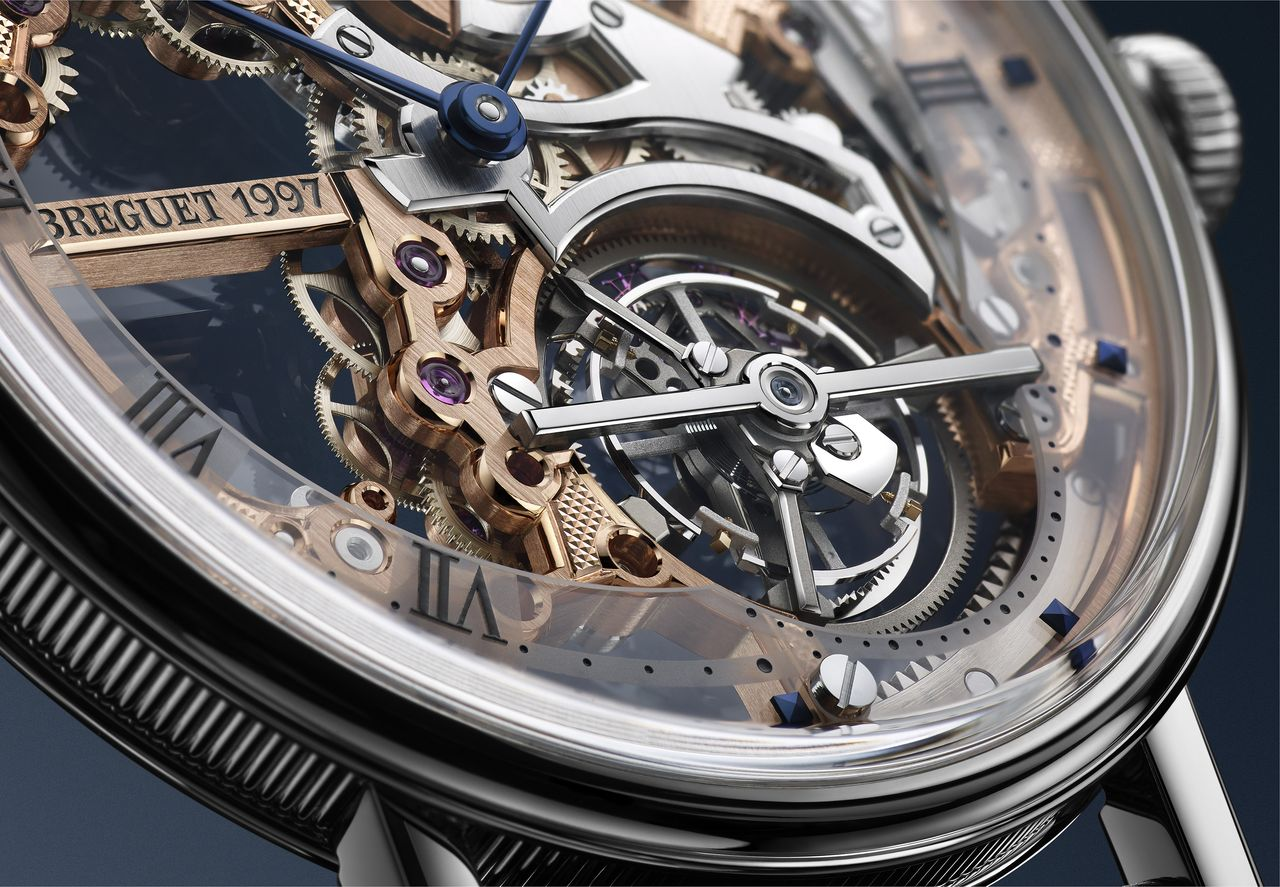 Breguet Classique Tourbillon Exptra-Plat Squelette 5395 - a tourbillon a különlegesség