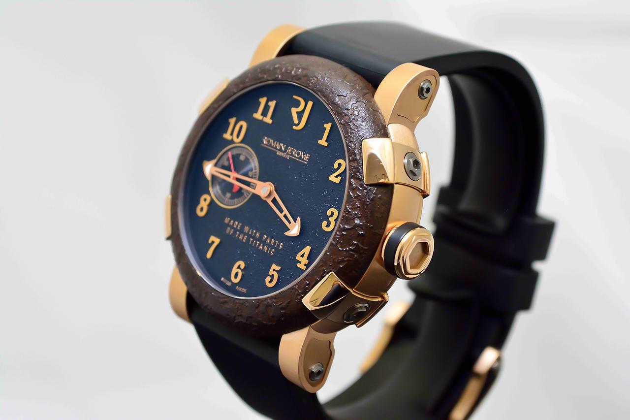 Romain Jerome Titanic DNA. Referenciaszám: T.OXY3.2222.00.BB. Fotó: Elysium Luxury Watches