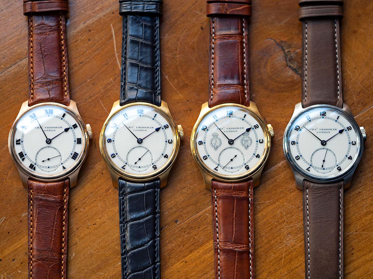 Charles Frodsham Double Impulse ChronometerWristwatch. Fotó: Charles Frodsham