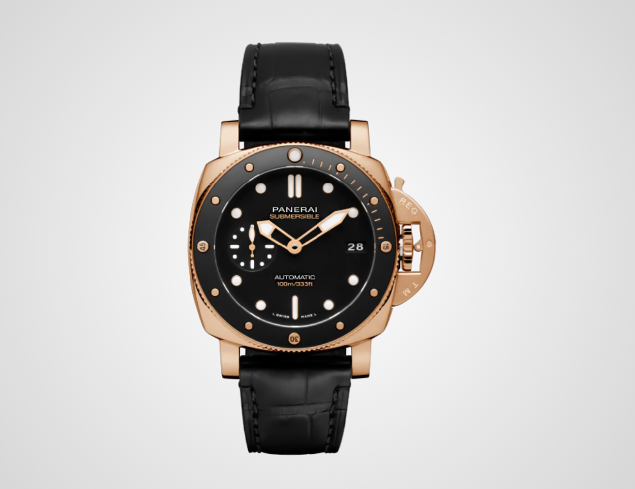PANERAI SUBMERSIBLE 42MM GOLDTECH Referenciaszám: PAM00947. Fotó: Panerai