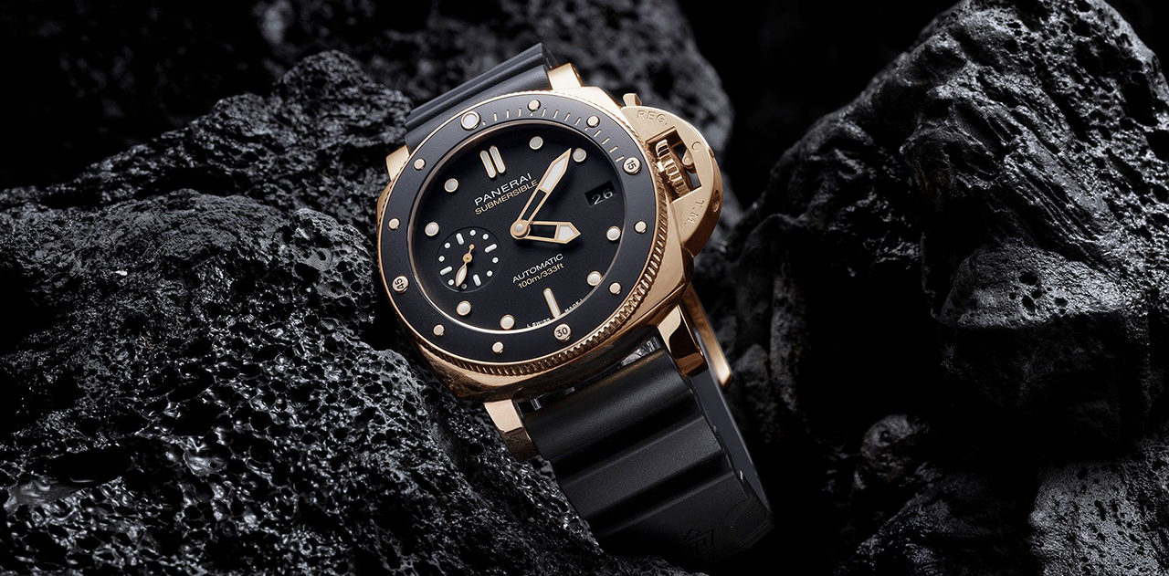 PANERAI SUBMERSIBLE 42MM GOLDTECH