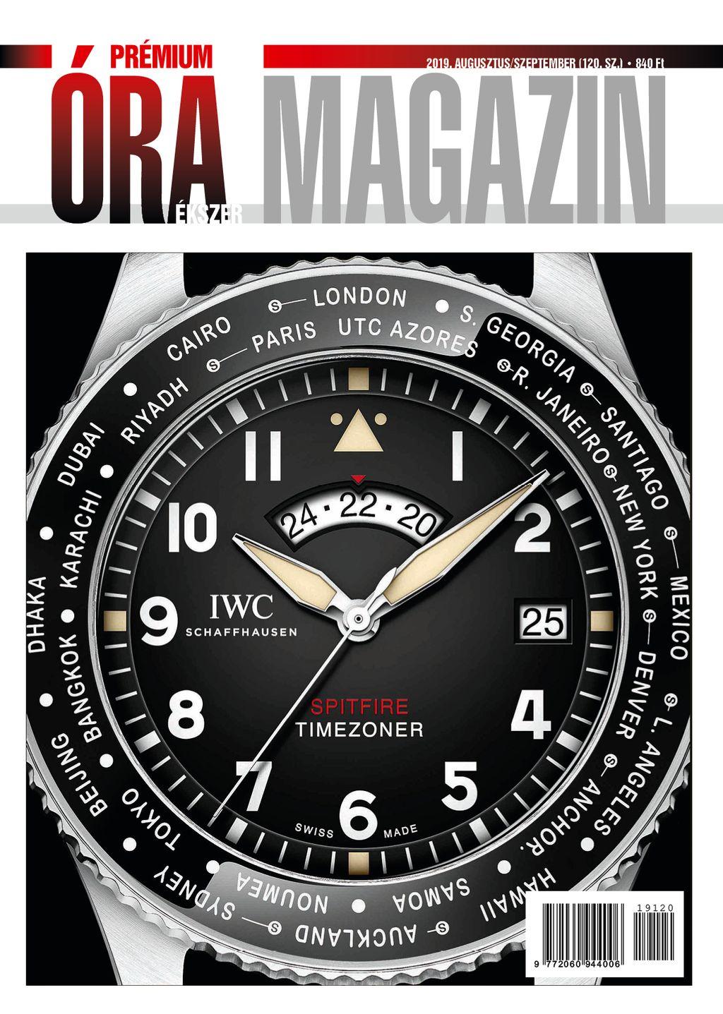 Prémium Óra Ékszer Magazin 2019 augusztus / szeptember (120.)