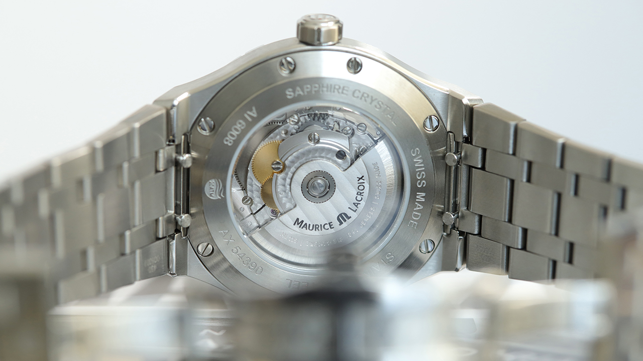 MAURICE LACROIX AIKON Automatic 42mm Referenciaszám: AI6008-SS002-130-1 Fotó: @RetekG