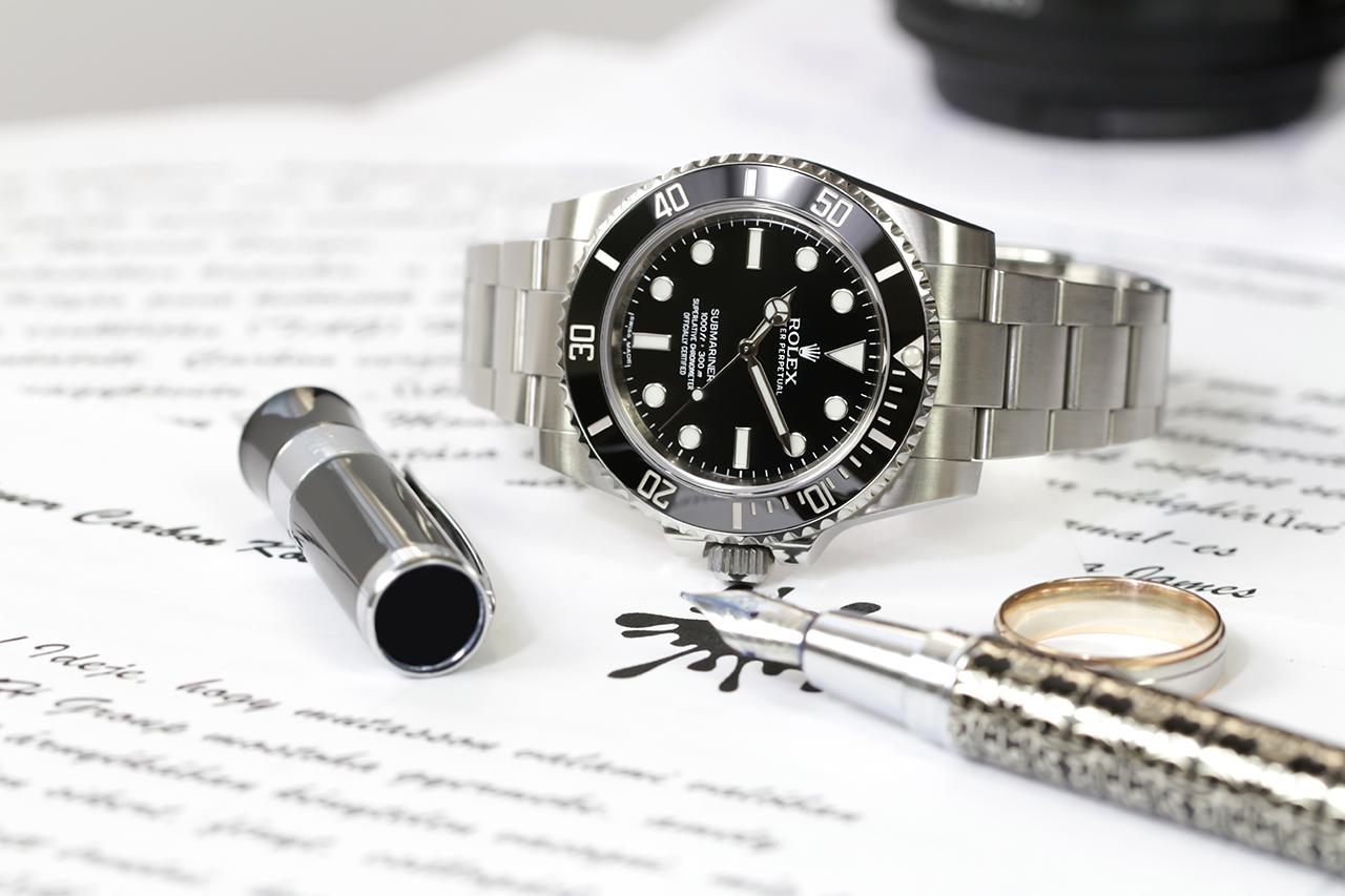 Rolex Submariner és csak, hogy összezavarjunk mindenkit, Steinhart limitált kiadású töltőtoll. Fotó: @RetekG