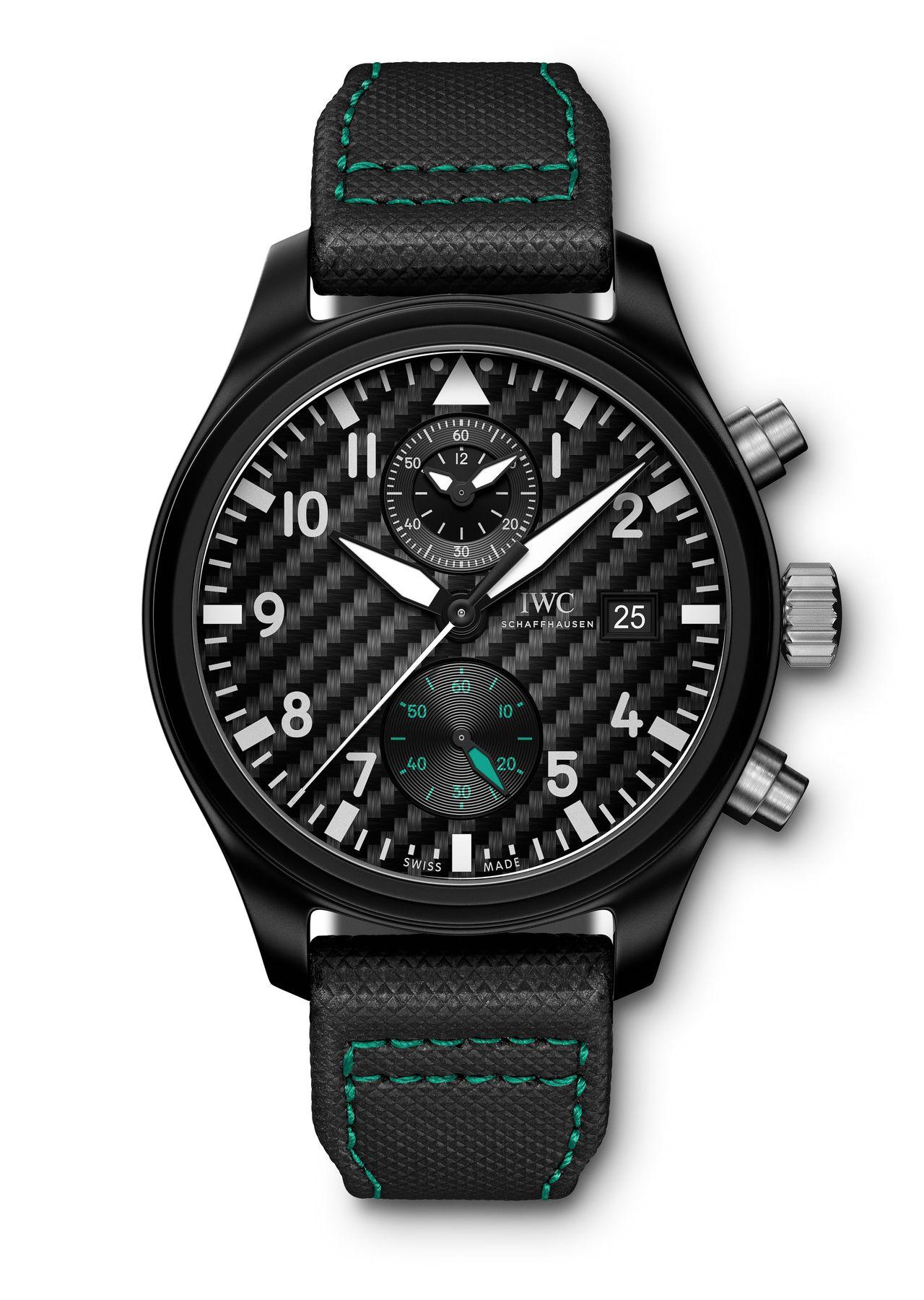 "IWC Pilot's Watch Chronograph Edition ""Mercedes-AMG Petronas Motorsport"""