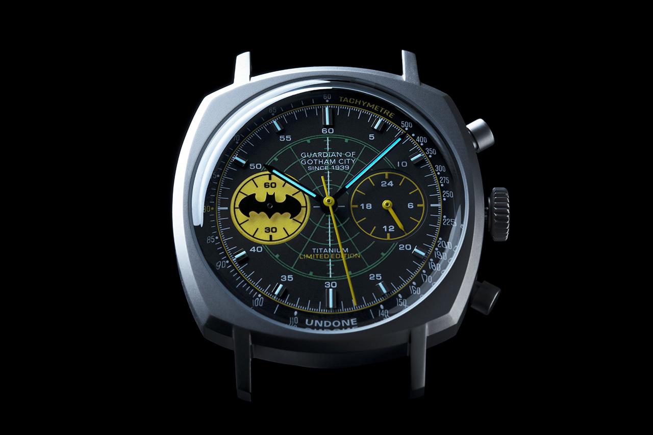 UNDONE X Batman 80. The Crusader. Fotó: @Undonewatches