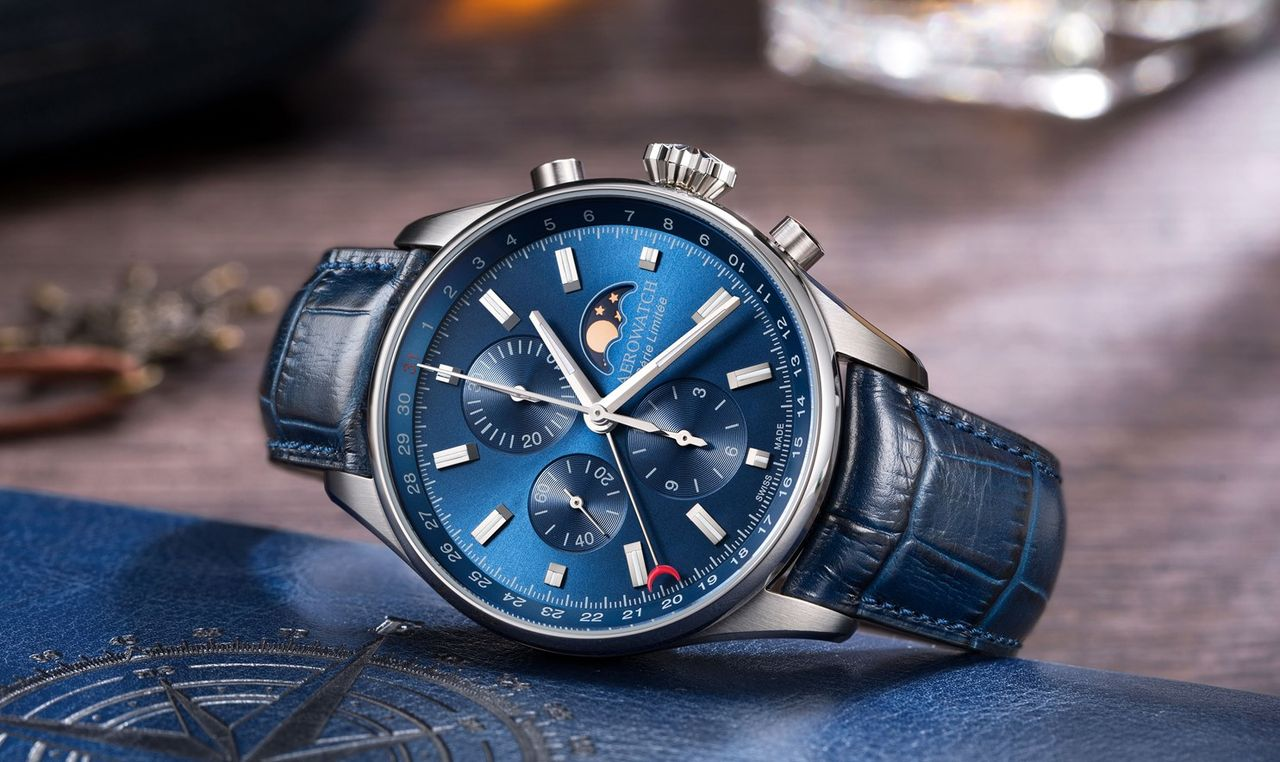 Aerowatch Les Grandes Classiques Chronograph Limited Edition