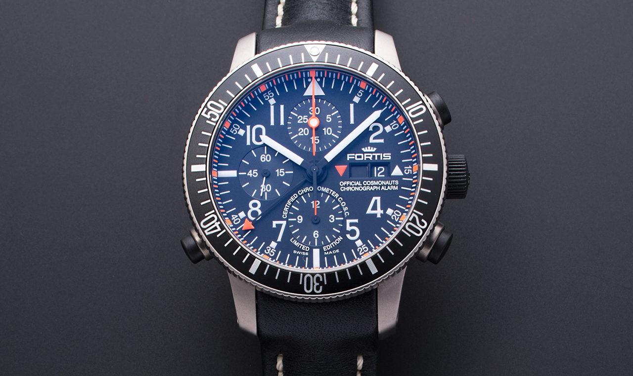 FORTIS B-42 Official Cosmonauts Chronograph Titanium Alarm D