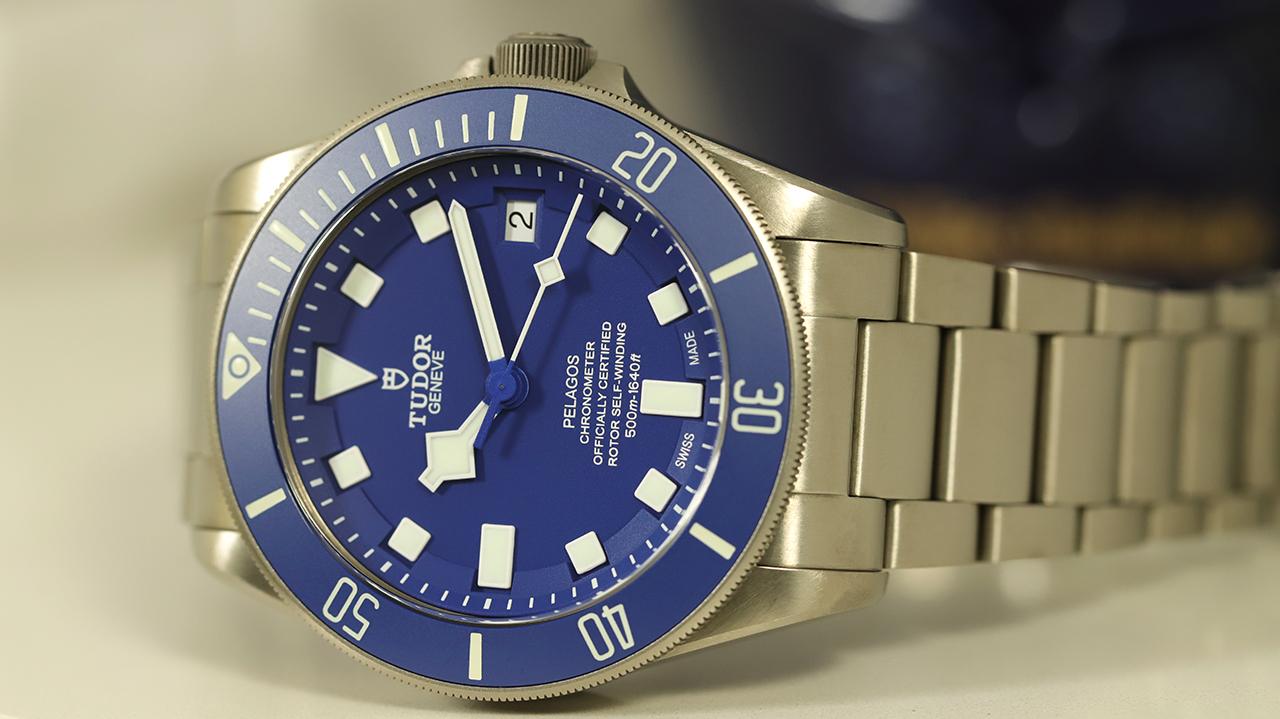 """Tudor PELAGOS 25600TB """"Kék"""" TESZT"""