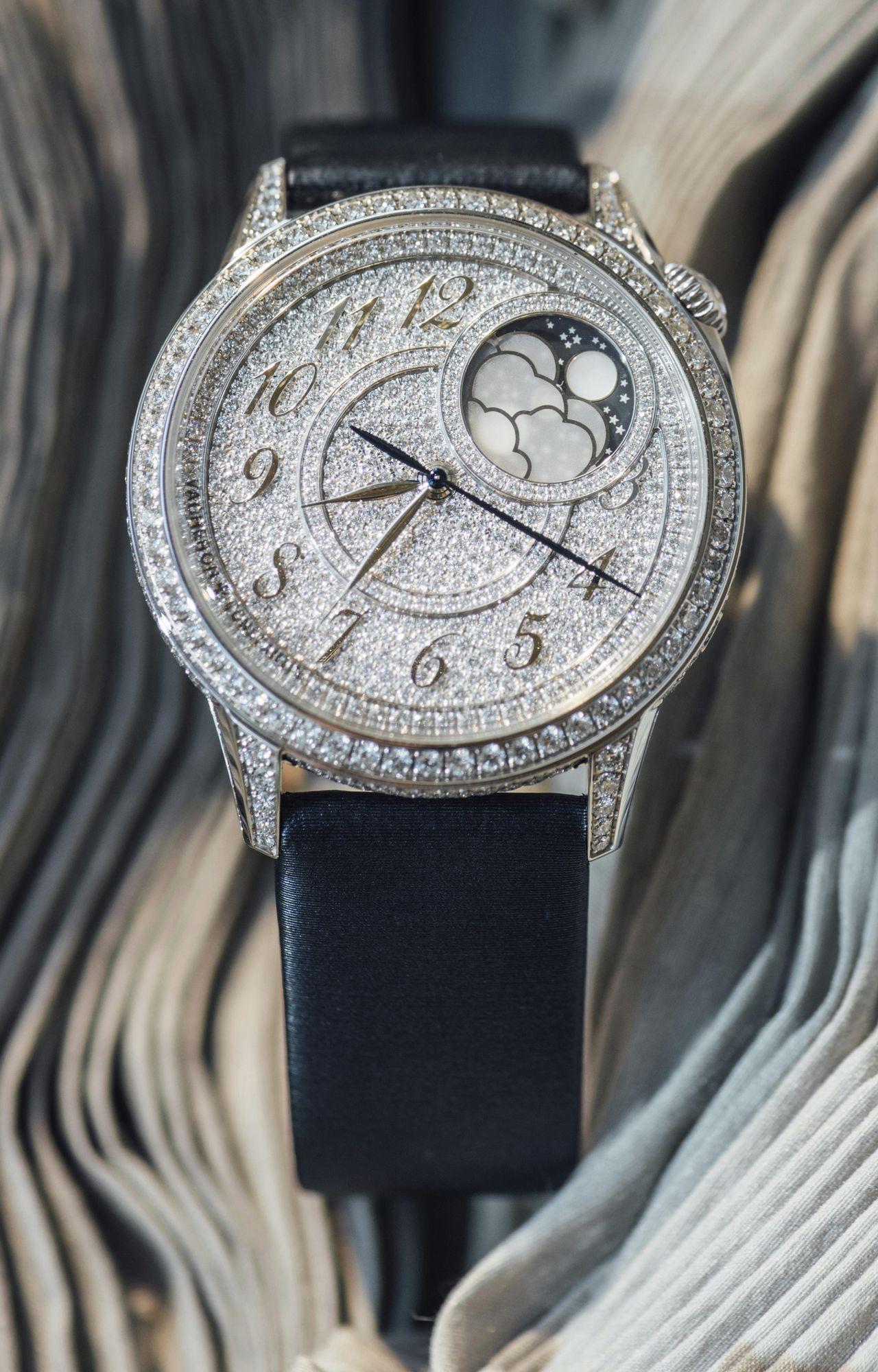 Vacheron Constantin Égérie - gyémántokkal borítva