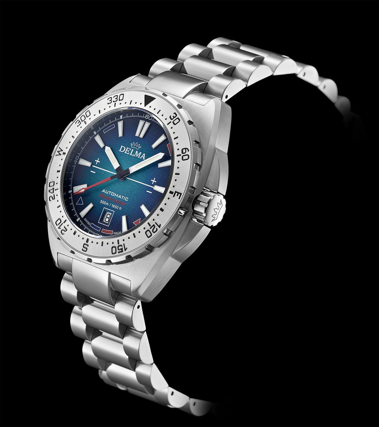 Delma Oceanmaster Antarctica Limited Edition - le sem tagadhatja a hetvenes éveket