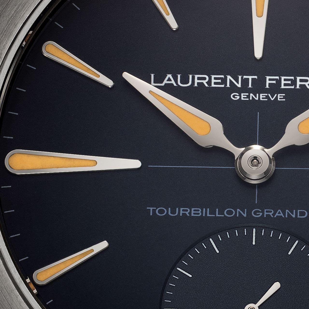 Laurent Ferrier Grand Sport Tourbillon - láthatatlan átmenet