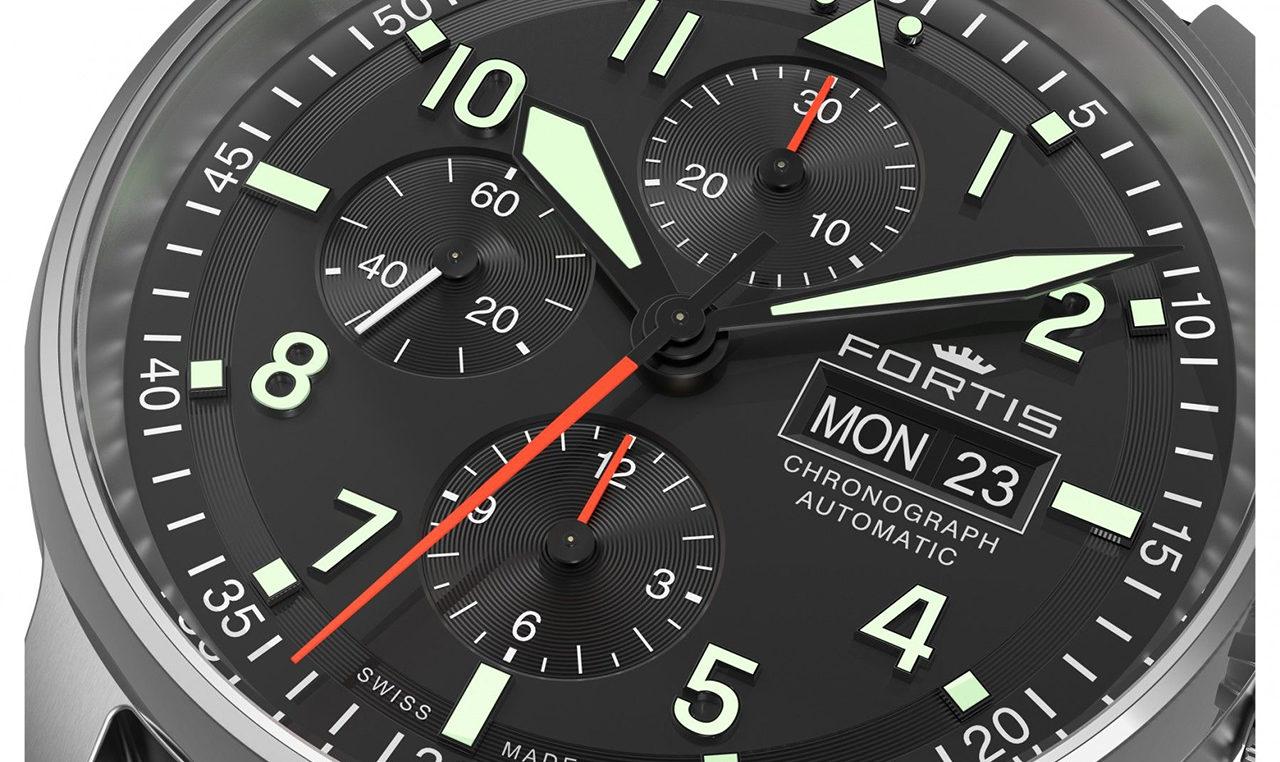 Pilótakeksz – FORTIS Flieger Classic Chronograph