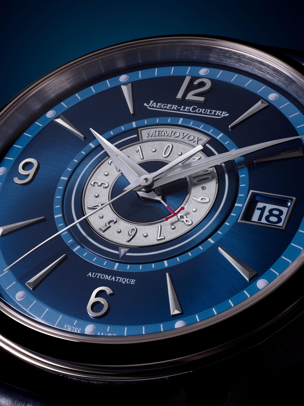 Jaeger-LeCoultre Master Control Memovox Timer - kékkel izgalmasabb, mint pusztán ezüstben