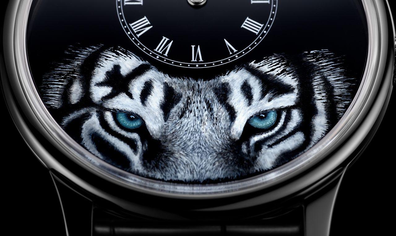 """Jaquet Droz Petite Heure Minute """"Tiger"""" – a tigris szeme"""