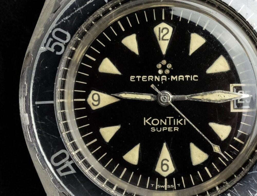 Katonai órák története: ETERNA SUPER KONTIKI I. rész