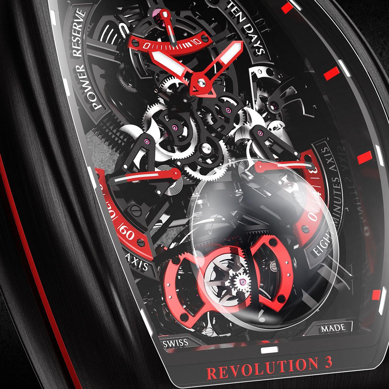 Franck Muller Vanguard Revolution 3 Skeleton - a tourbillon mellett más is szerephez jut