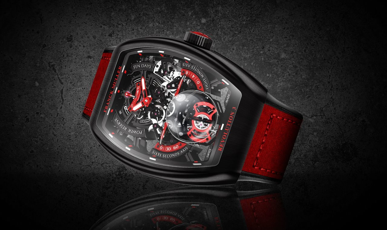 Franck Muller Vanguard Revolution 3 Skeleton