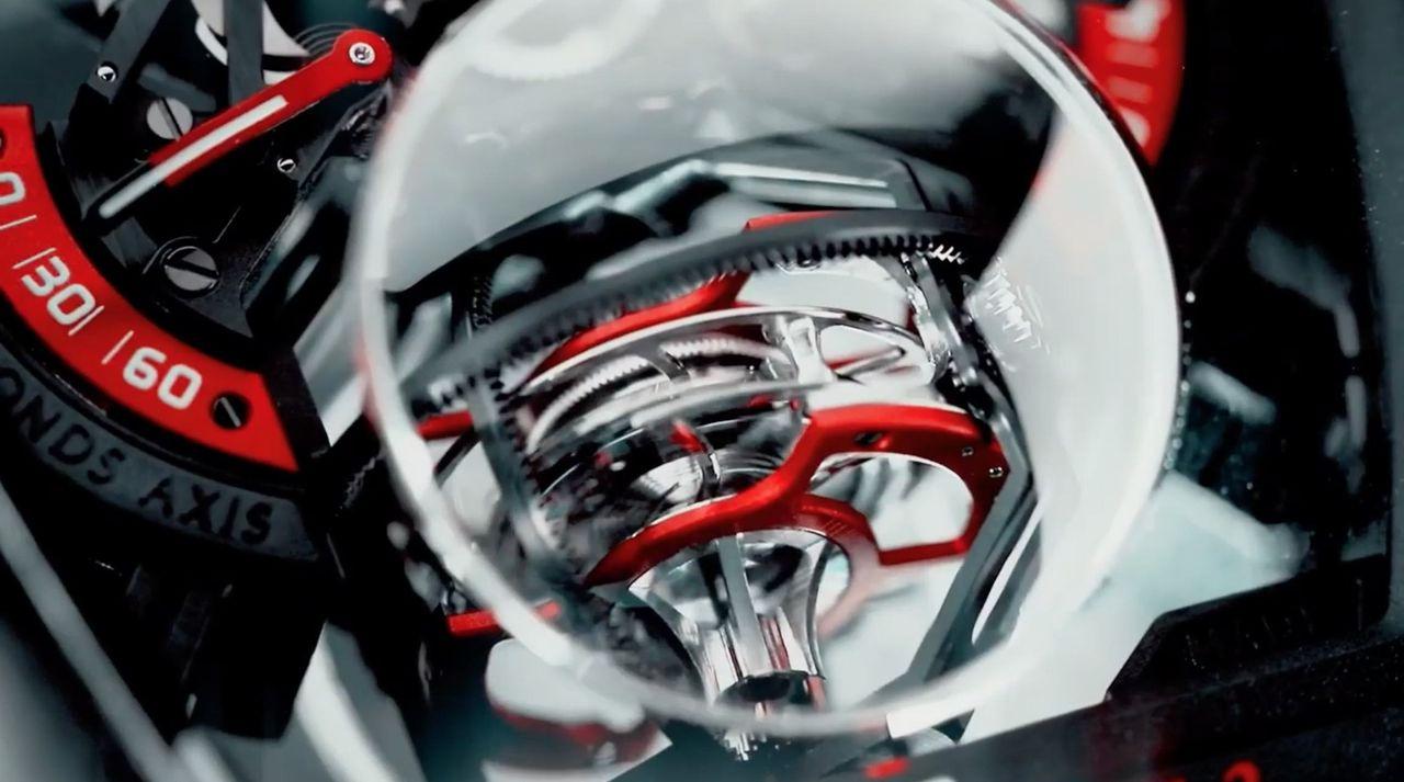 Franck Muller Vanguard Revolution 3 Skeleton - sürög-forog a tourbillon