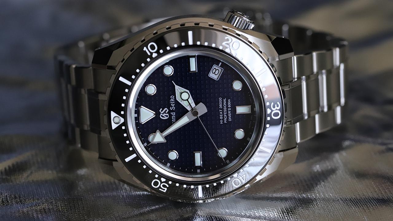 Grand Seiko Hi-Beat 3600 600M Diver SBGH257G . Fotó: @RetekG