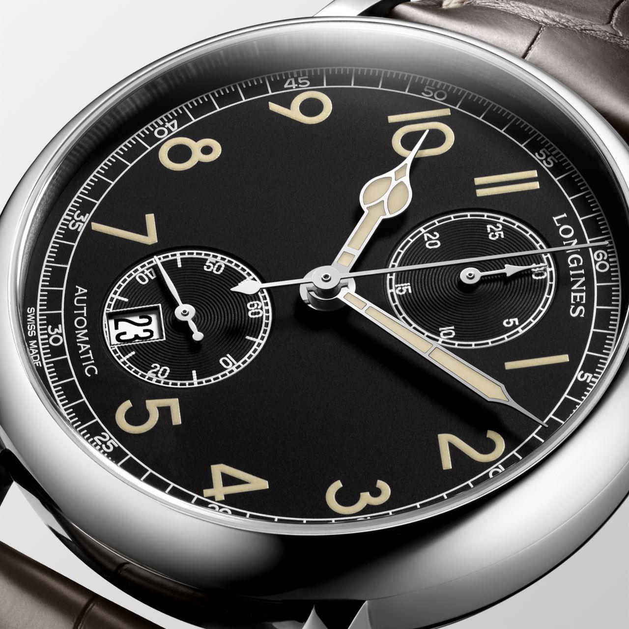 Longines Avigation Watch Type A-7 1935 - kibírtuk volna dátum nélkül is, de tény, hogy hasznos