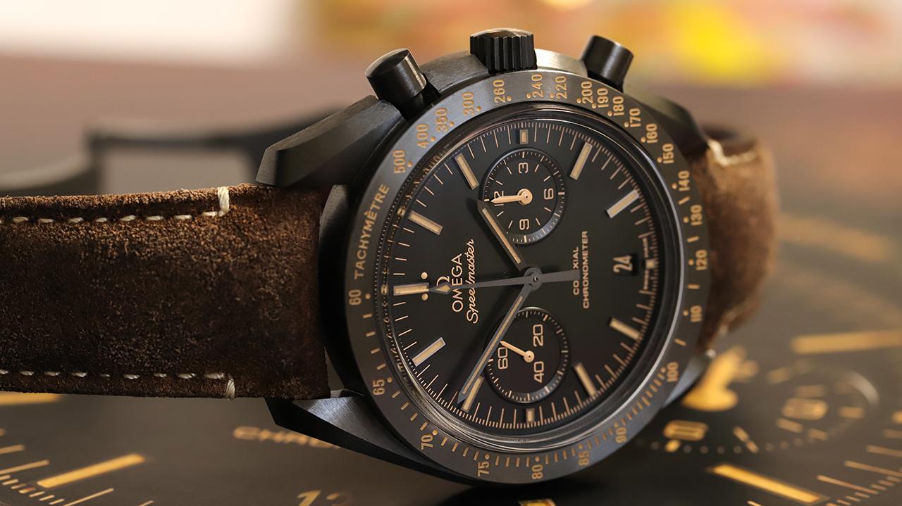 Omega Speedmaster Moonwatch Co-Axial Chronograph 44.25 MM Dark Side of the Moon Vintage Black. Referenciaszám 311.92.44.51.01.006 Fotó: @RetekG