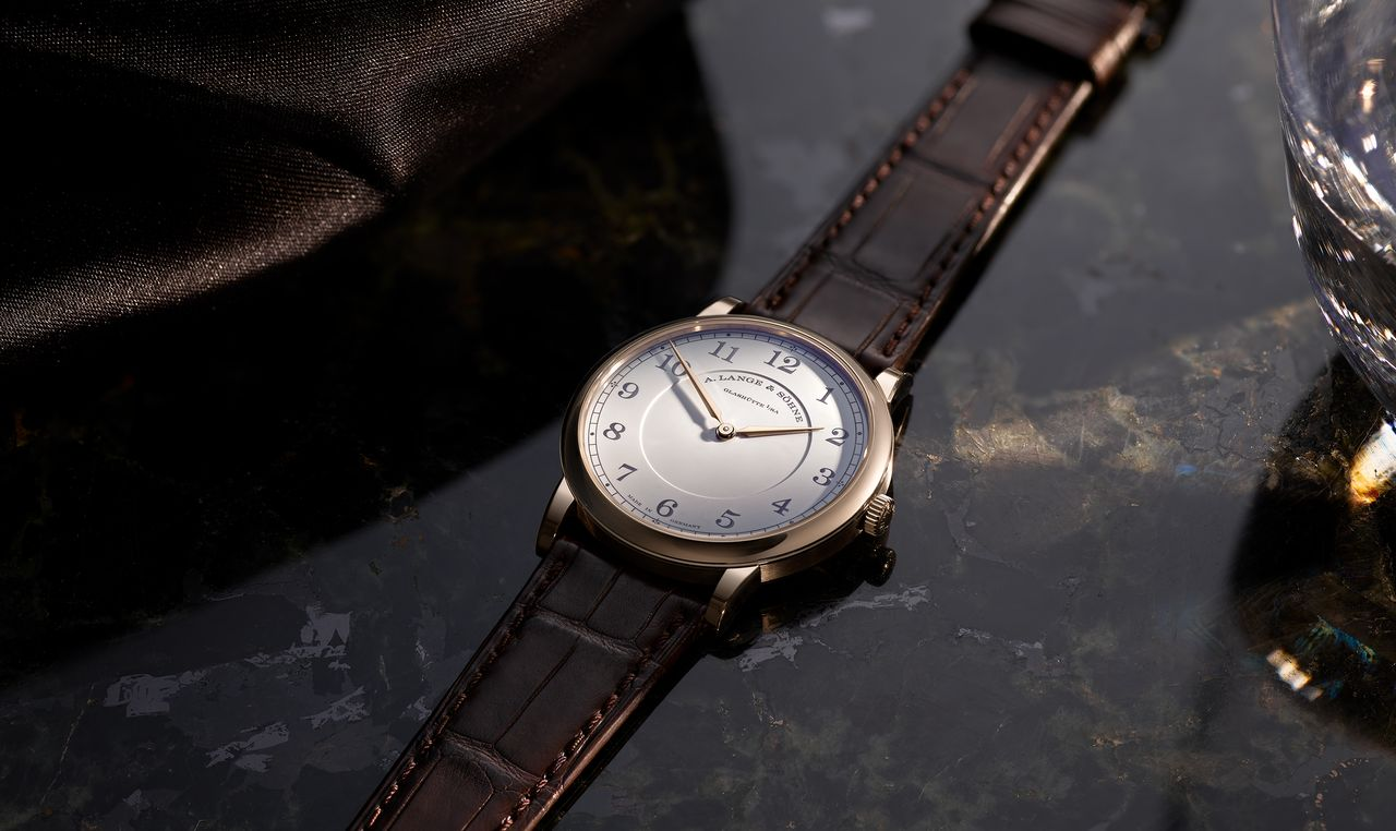 "A. Lange & Söhne 1815 Thin Honeygold ""Homage to F.A. Lange"""