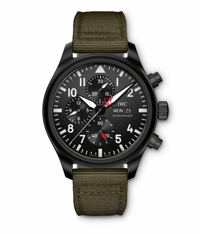 "IWC Pilot's Watch Chronograph Top Gun Edition ""SFTI"" - egységes megjelenés"