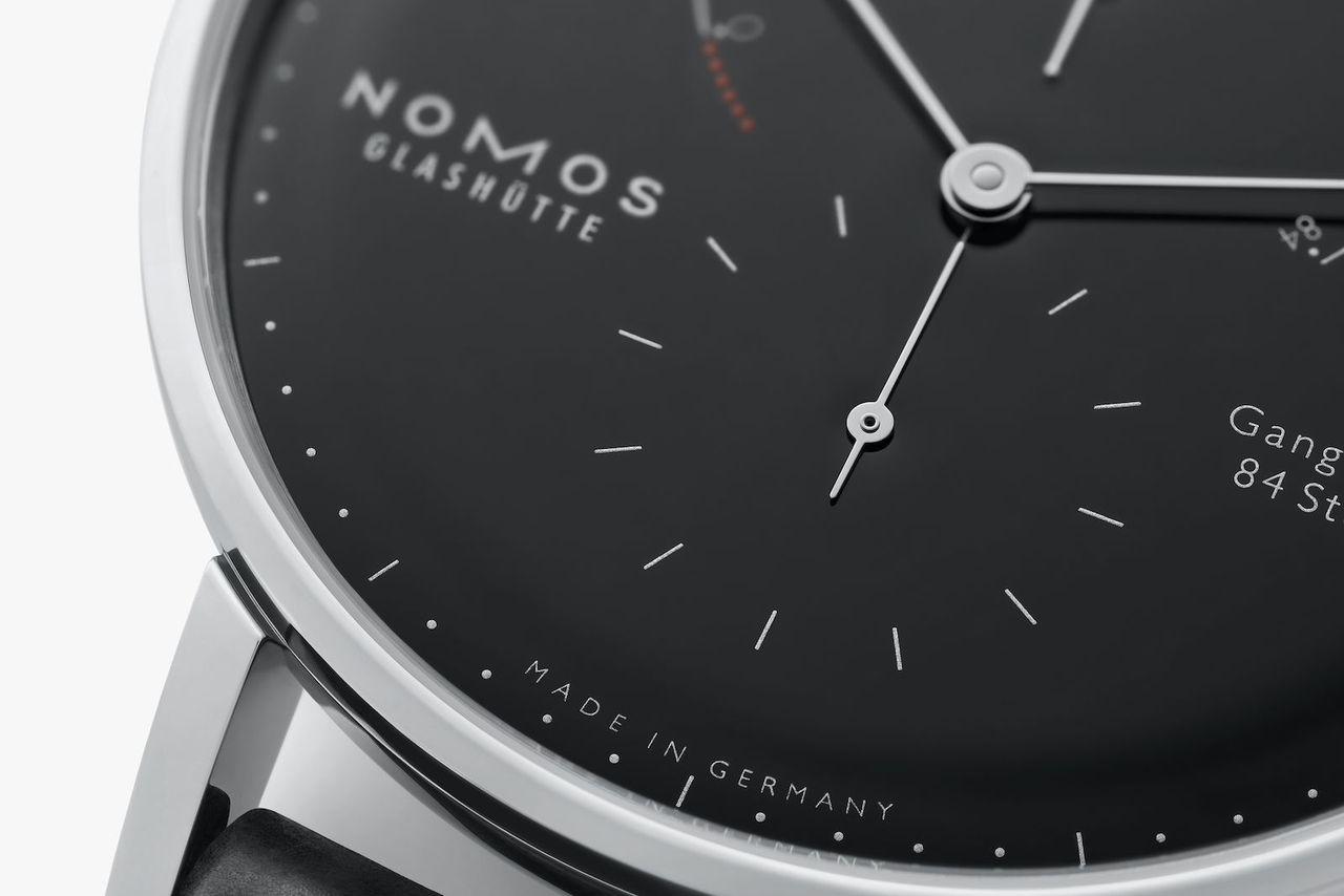 Nomos Lambda - 175 Years Watchmaking Glashütte - náluk ritka a fekete