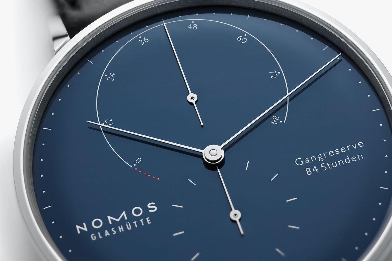 Nomos Lambda - 175 Years Watchmaking Glashütte - zománc a számlap