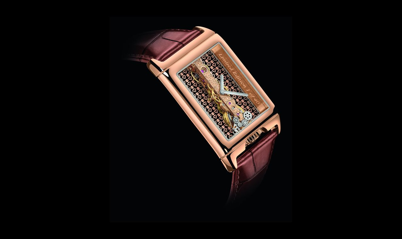Corum Golden Bridge Rectangle 40th Anniversary