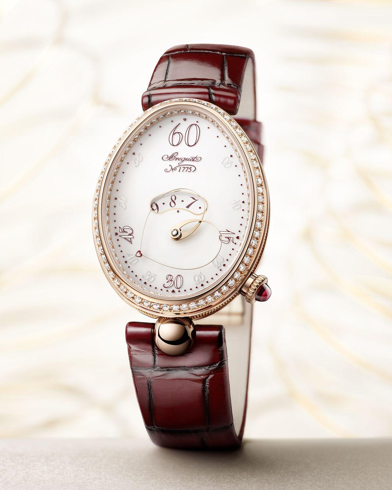 Breguet Reine de Naples Cœur - nemcsak ötletes komplikációja, hanem szimbolikája is van az órának