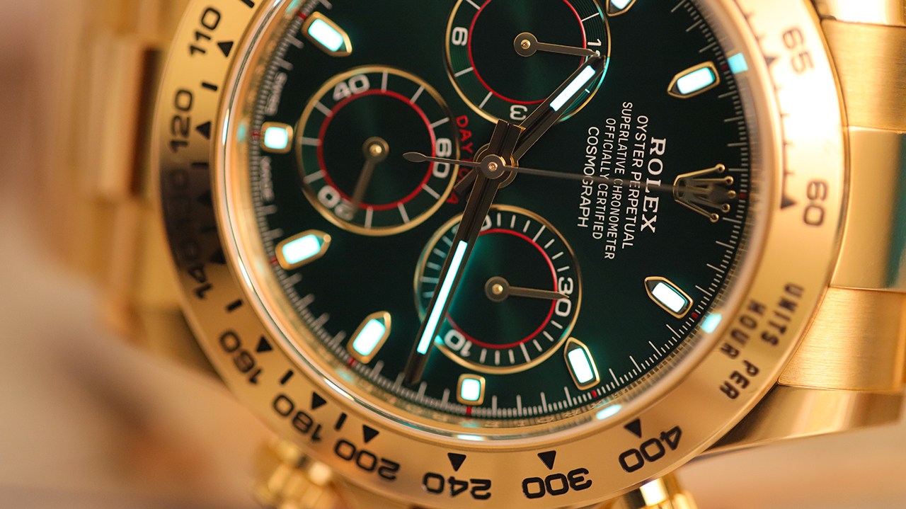 Michelin-csillagos Rolex Daytona