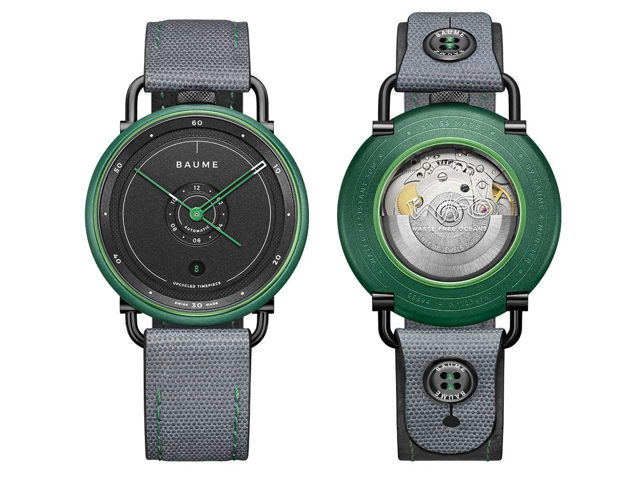 Baume et Mercier Baume Ocean Limited Edition - zöld óra zöld színben
