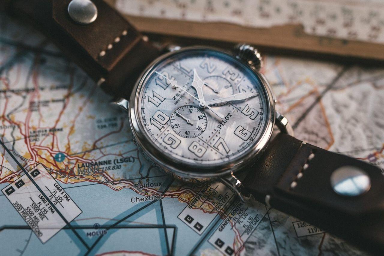 Zenith Pilot Type 20 Chronograph Silver - hangulata tagadhatatlanul van