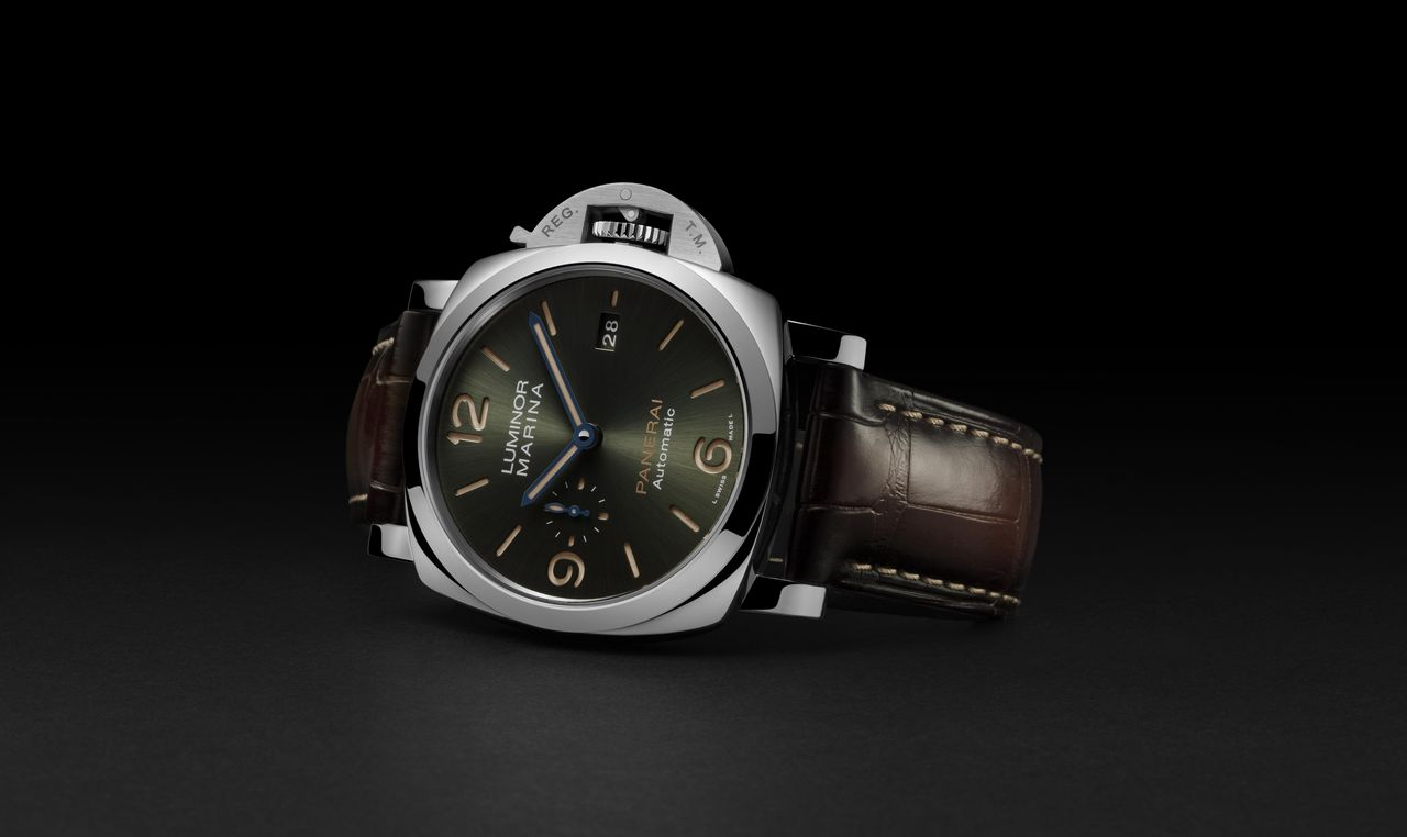 Officine Panerai Platinumtech Luminor Marina