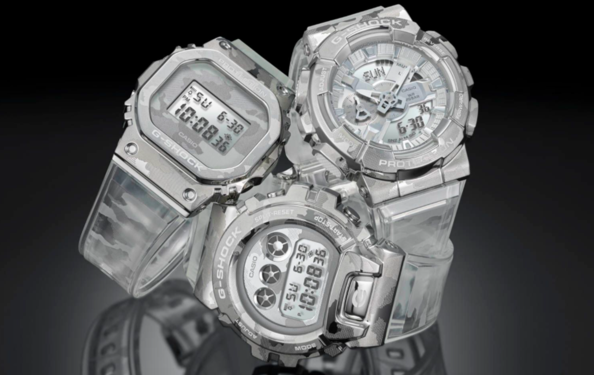 CASIO G-SHOCK SKELETON CAMOUFLAGE