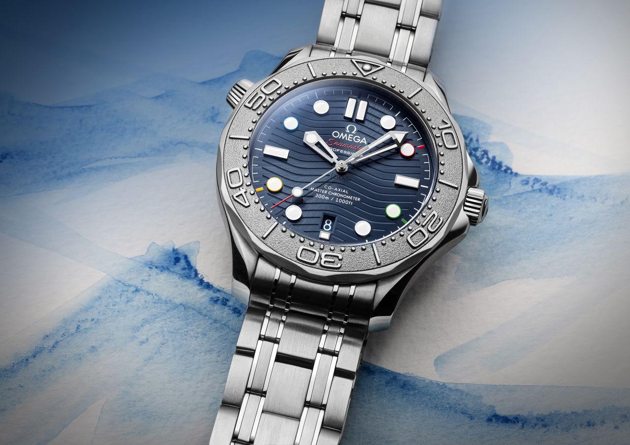 "Omega Seamaster Diver 300M ""Beijing 2022"" Special Edition - visszafogott utalás"