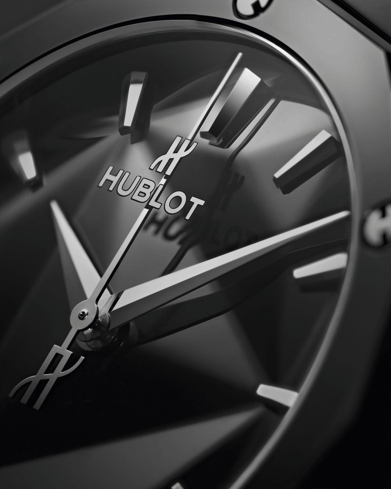Hublot Classic Fusion Orlinski 40mm - részleteiben gazdagabb a számlap annál, mint azt elsőre gondolnánk