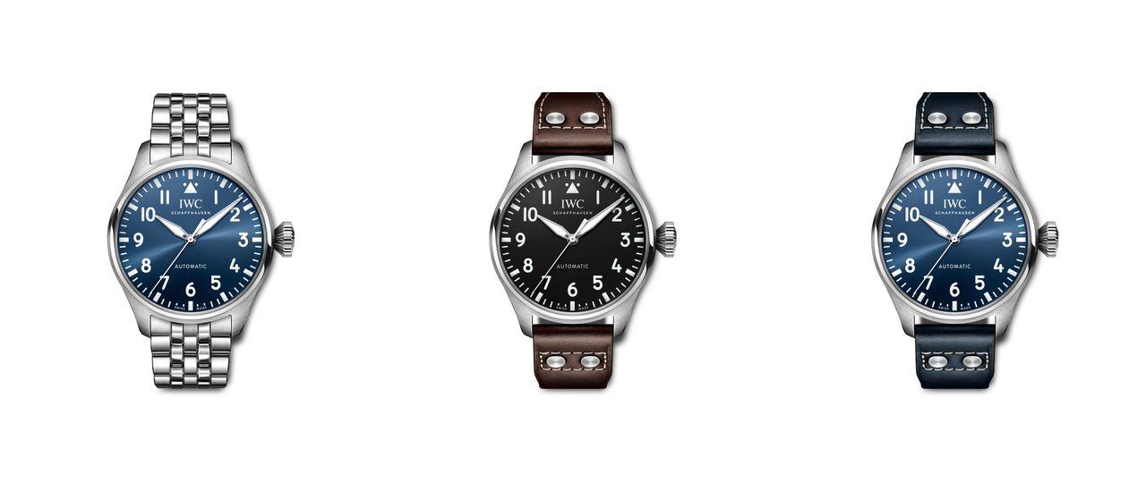 IWC Big Pilot Watch 43 - három változat